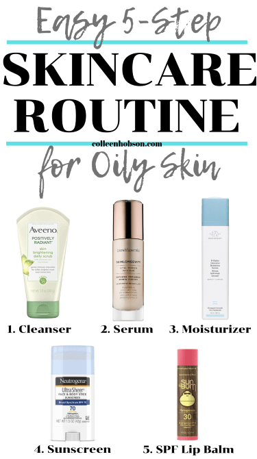 Daily Skincare Routine For Oily Skin - Colleen Hobson