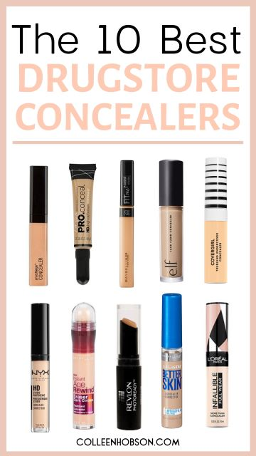 The 10 Best Drugstore Concealers On The Market Today Colleen Hobson