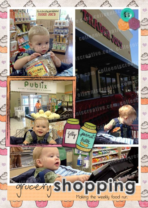 2013 Week in the Life - Grocery Shopping