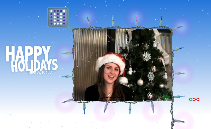 Click here to see our holiday video!