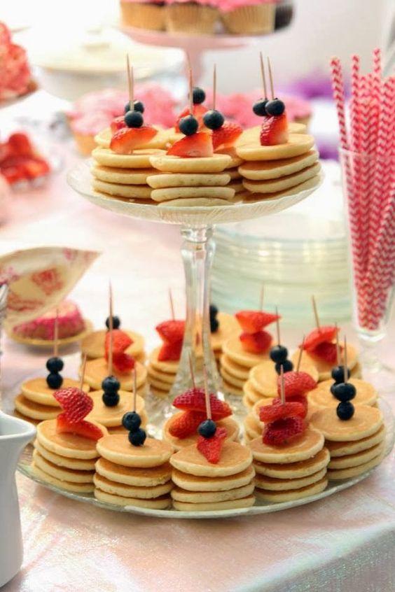 brunch mini pancakes