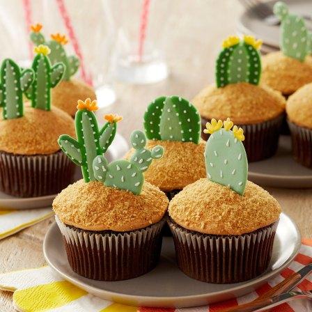 mexican theme cupcakes