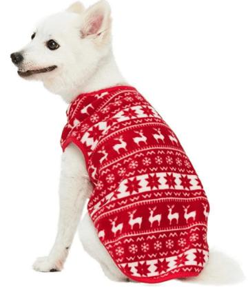 ugly dog sweater for Christmas