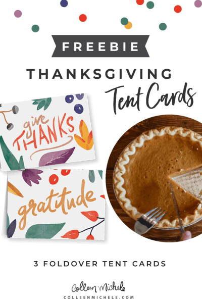 thanksgiving free note cards