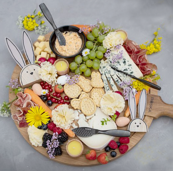 Easter Cheese Board