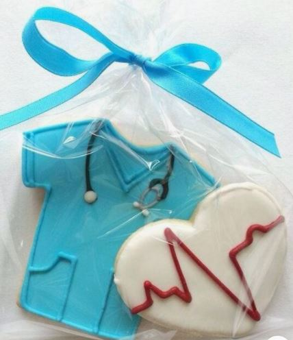 Nurse Graduation Cookie Favors