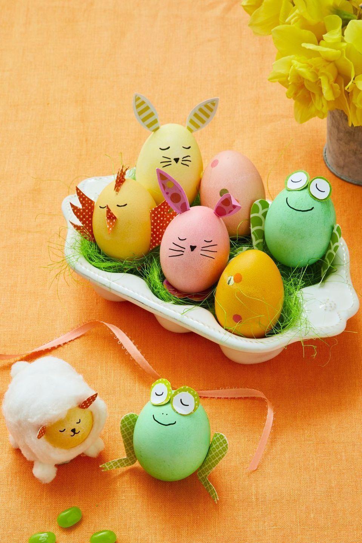Farm animal Easter Eggs