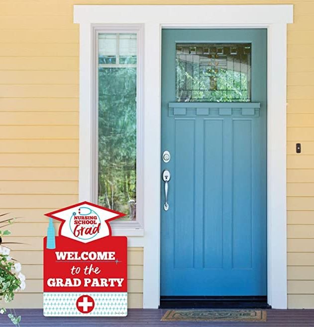 Nurse Graduation Party Sign