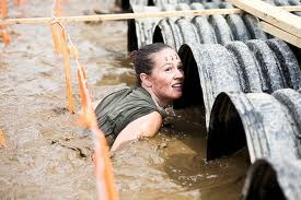 It's ALL mental......water-filled black-out tunnels.