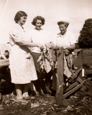 August 1942 near Windsor: Colleen Thibaudeau (age 16) was a volunteer farm worker. Courtesy The Estate of Colleen Thibaudeau.