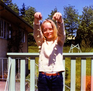 Susan Reaney (age 10) Summer 1969, Victoria, BC. Photo by Colleen Thibaudeau.
