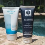REVIEW: ADOVIA PURIFYING MUD MASK & OZ NATURALS SEA INFUSED HERBAL MOISTURIZER