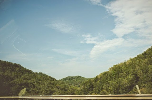west virginia mountains road trip