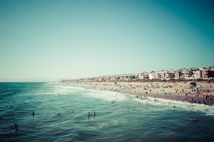 BEST DAY EVER AT MANHATTAN BEACH