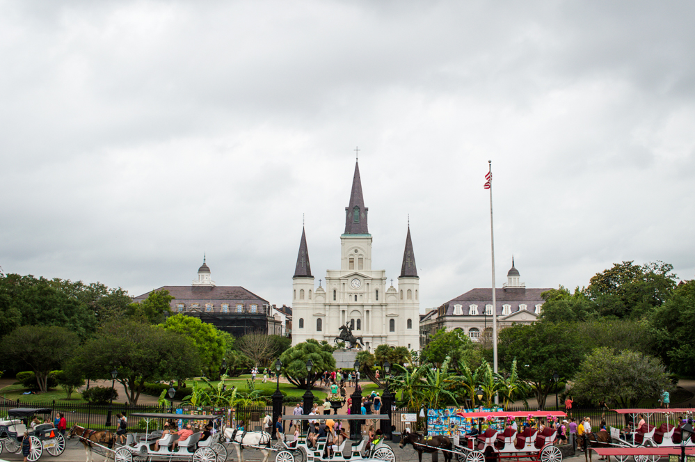 Jackson Square in the French Quarter, New Orleans