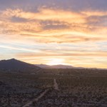 COTTON CANDY SUNSET IN JOSHUA TREE