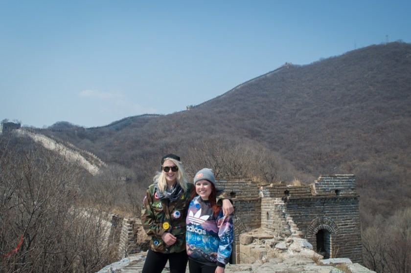 Hiking on the Great Wall of China | ColleenWelsch.com