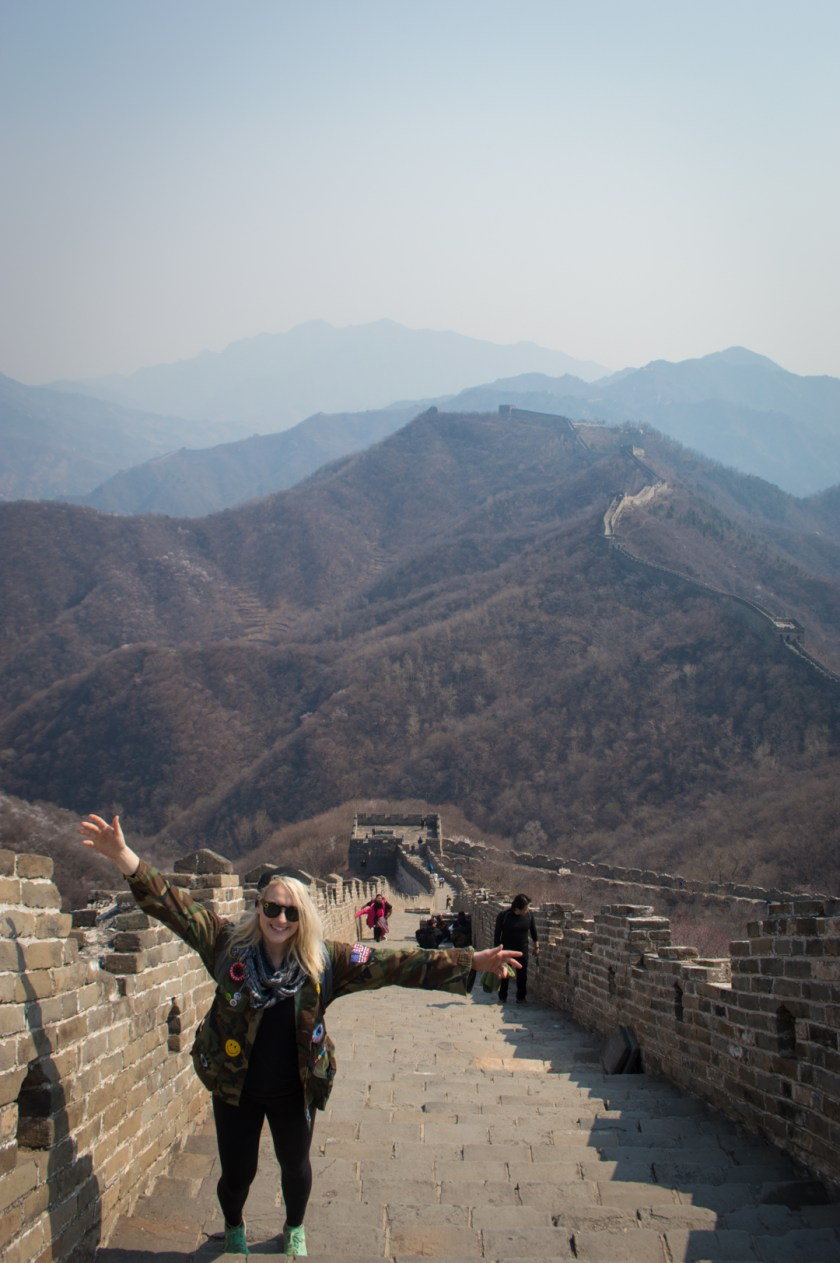 Visiting the Great Wall of China | ColleenWelsch.com