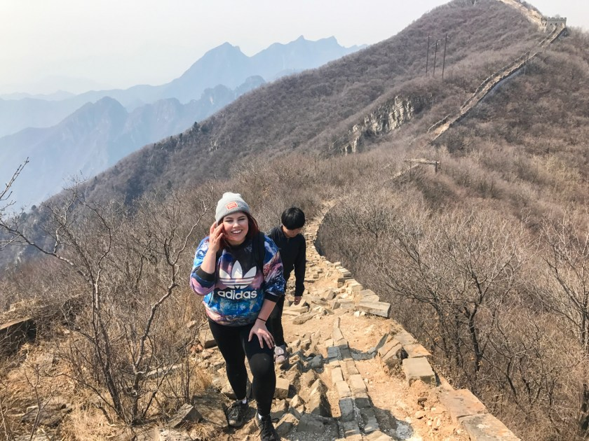 Walking on the Great Wall of China | ColleenWelsch.com
