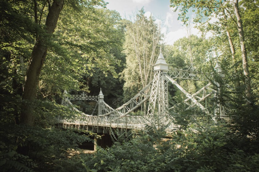 Mill Creek Park in Youngstown, Ohio: The Silver Bridge