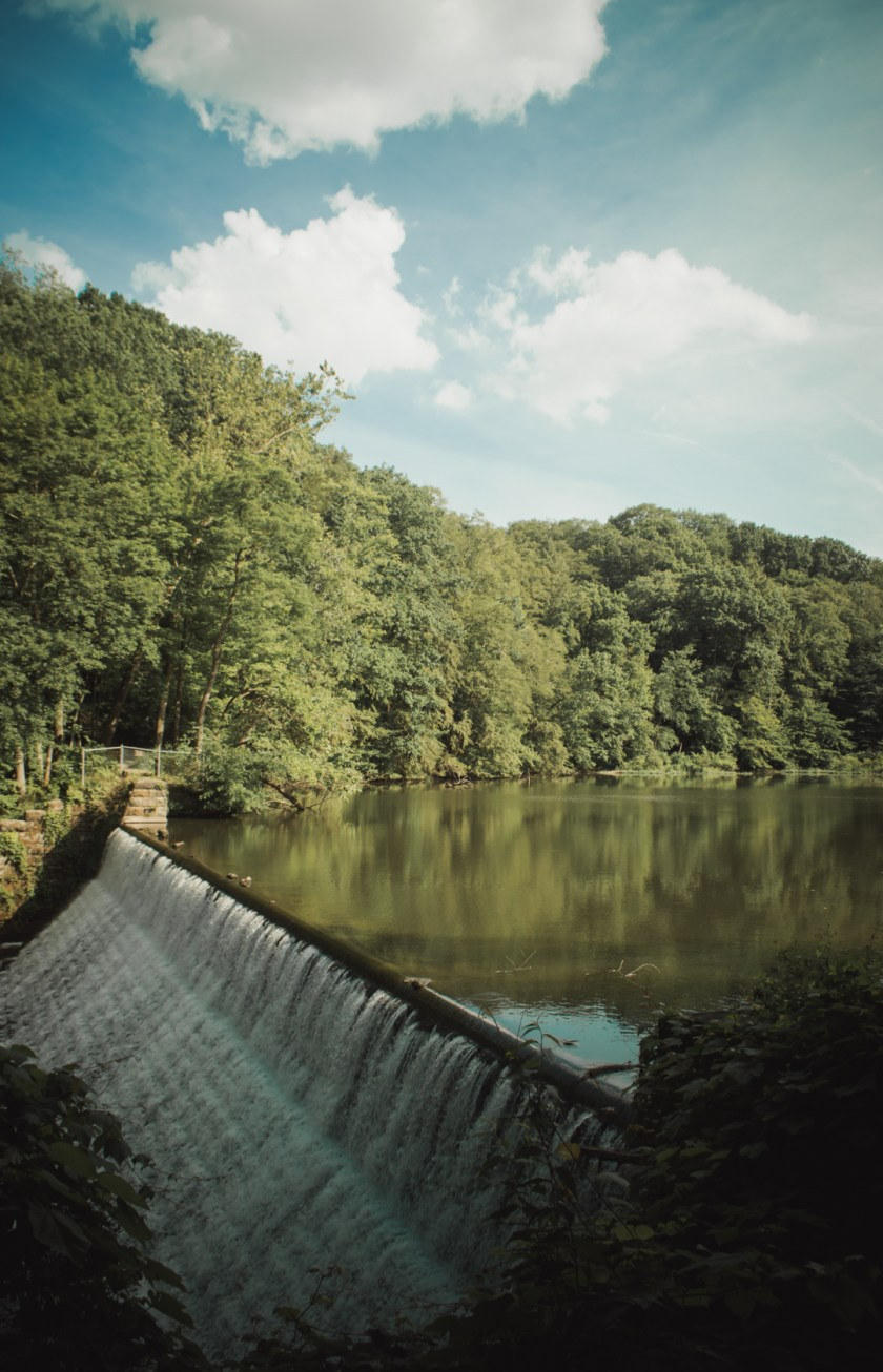 Mill Creek Park in Youngstown, Ohio: Lake Cohasset