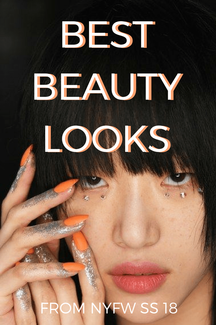 The best in beauty from New York Fashion Week Spring/Summer 2018. From date night makeup to festival looks, this is what everyone will be wearing in 2018!