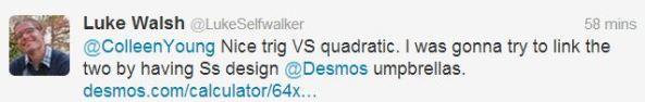 Luke Walsh tweet