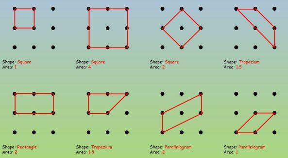 Quadrilaterals 3x3