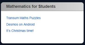 Maths for Students