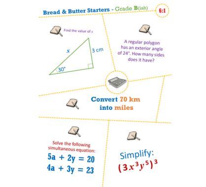 Bread & Butter Starters
