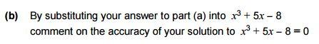 AQA specimen exam question b