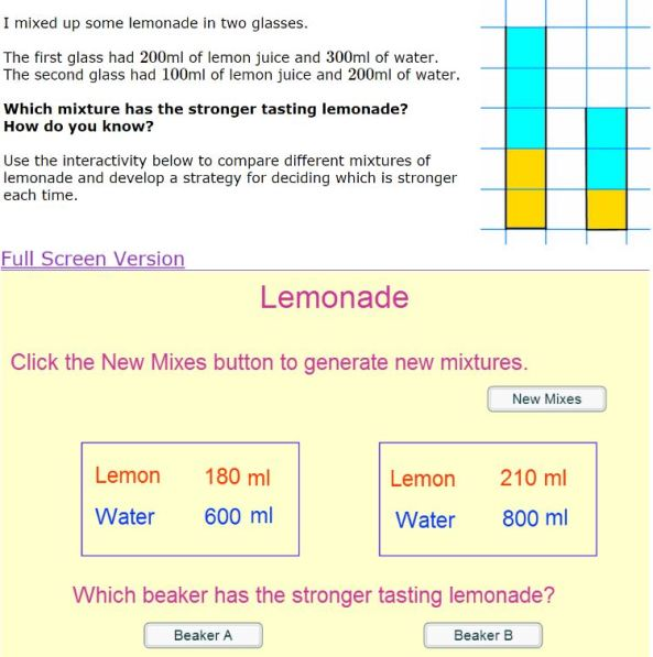 Nrich - Mixing Lemonade