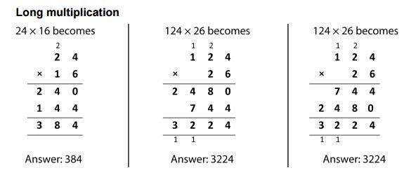 NC Formal Long Multiplication