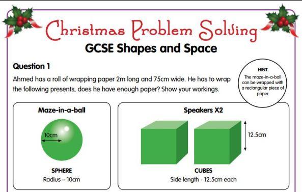 Oxford University Press Christmas Problems