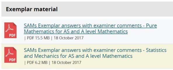 Edexcel Model Answers