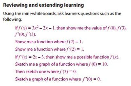 Standards Unit Calculus