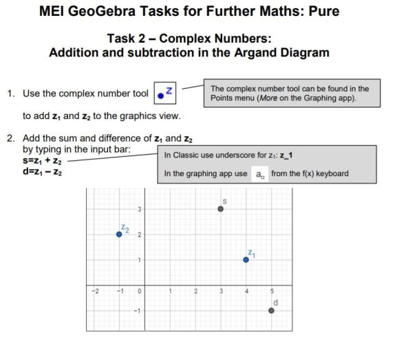 MEI Further Maths Pure Tasks