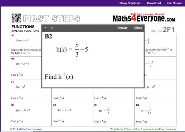 Maths4Everyone David Morse