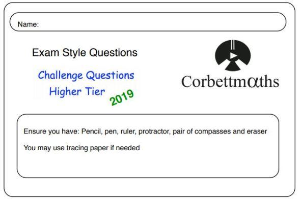 Corbett Challenge Questions