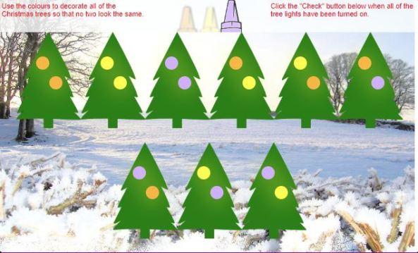 Christmas Tree Trim Transum