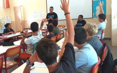 Visite Unicef Madagascar au collège