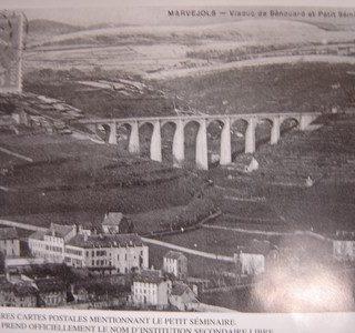 Carte postale de Marvejols en 1906