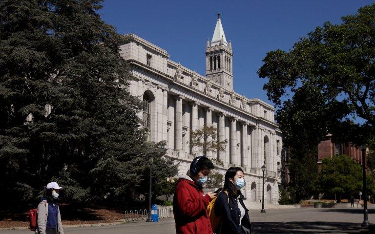 Students admitted to U.C. Berkeley