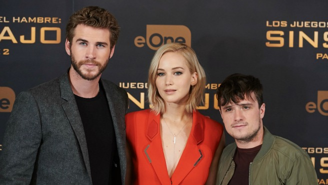 mockingjay cast j law josh liam