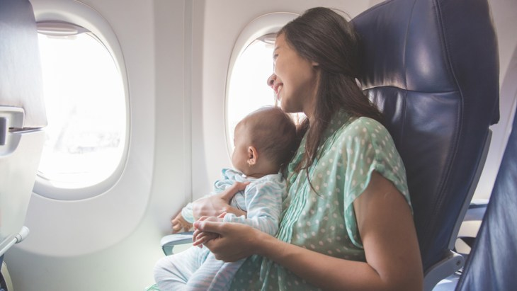 Woman Gives Birth on Airplane