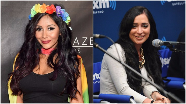 Snooki and Angelina from Jersey Shore