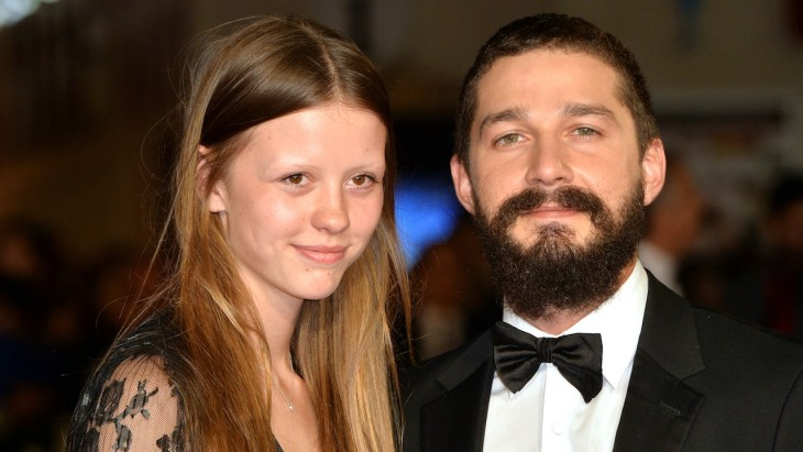 Shia LaBeouf and Mia Goth got married in Las Vegas