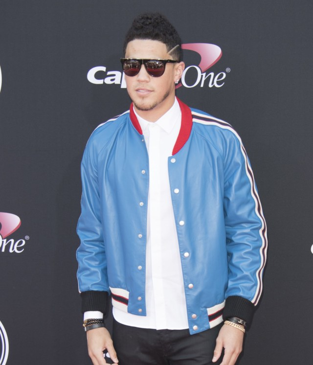 Devin Booker at 2017 ESPY Awards and dating history with Jordyn Woods