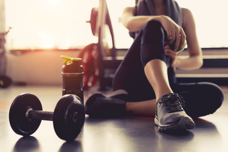 working out fitness health