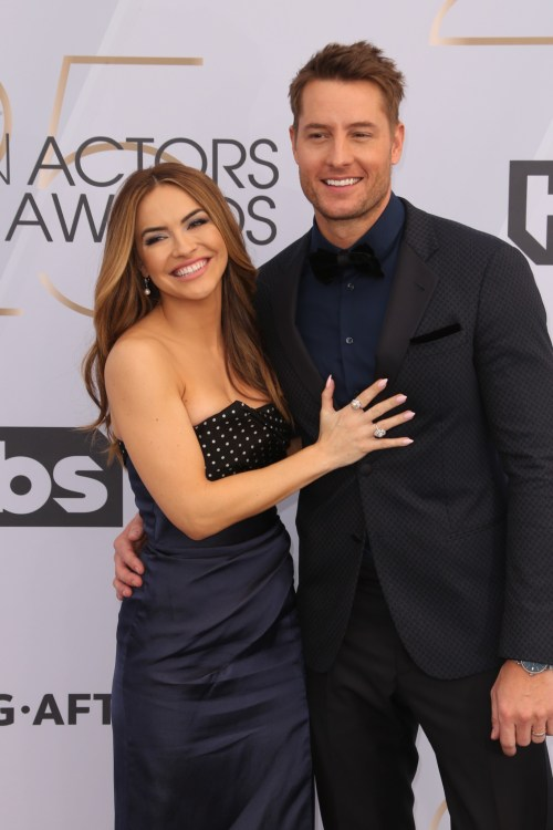 Chrishell Stause, Justin Hartley The 25th Annual Screen Actors Guild Awards at the Shrine Auditorium